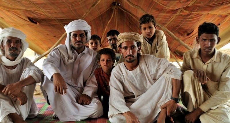 Местные жители ОАЭ