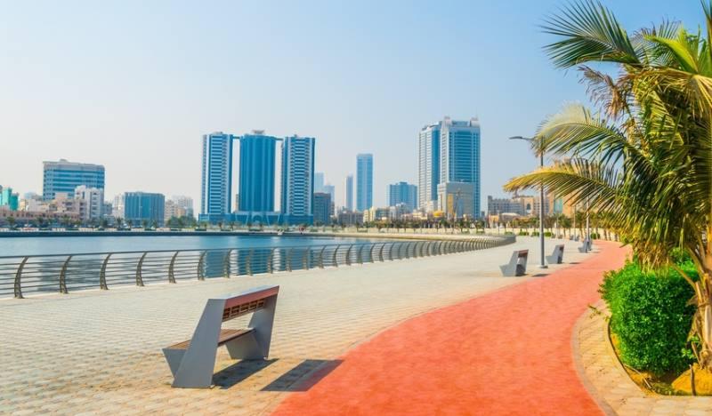 В главном городе Эмирата есть историческая часть