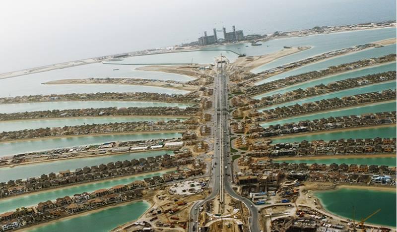 находится одноименный район Дубая