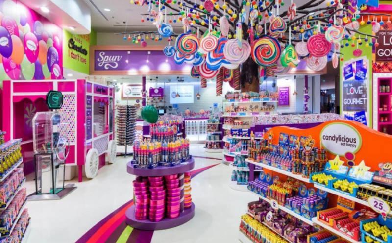 многие сладости можно найти и в обычных продуктовых магазинах